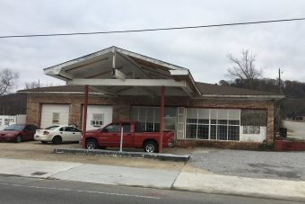 Former Service Station – 5482 sf & 1/3 ac