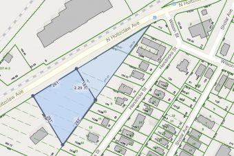 N Holtzclaw 2.3 acres @ Wilcox Blvd.