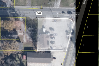 .46 Acre Signalized Hard Corner McFarland Ave. @ James Street on edge of Opportunity Zone Rossville, GA